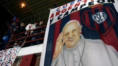 Papa Francisco seguidor de San Lorenzo