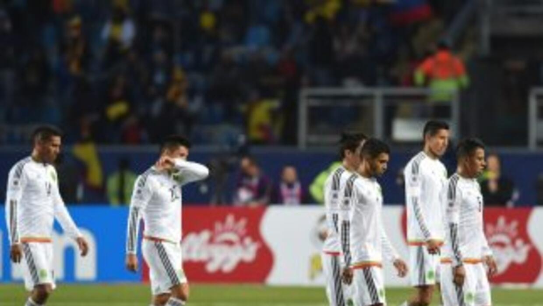El Tri sumó únicamente dos puntos en Copa América.