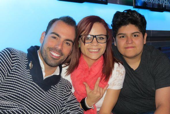 En el foro con Arias y Ana Cristina.