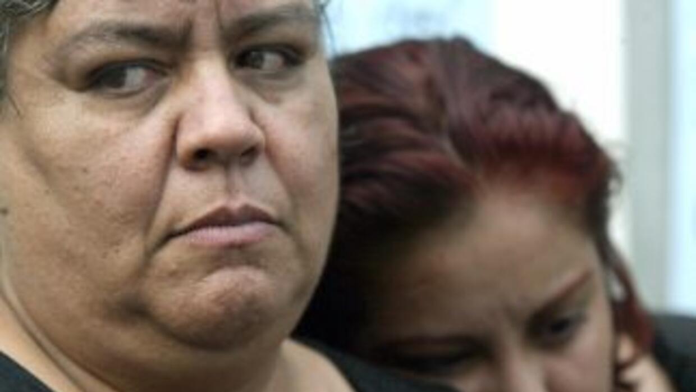 La activista defensora de Derechos Humanos, Norma Andrade.