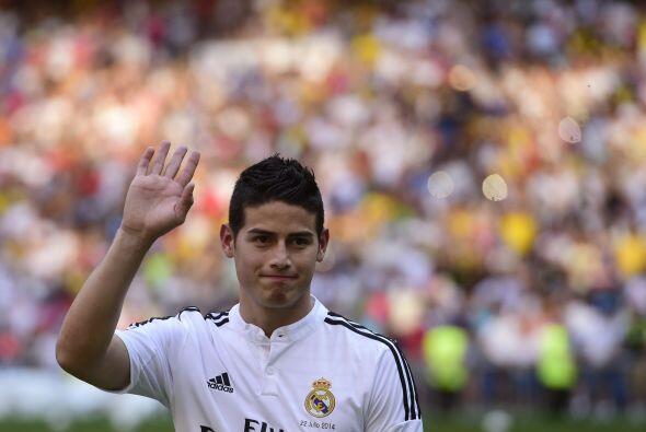 Llegó el ansiado momento por el madridismo al ver al futbolista d...
