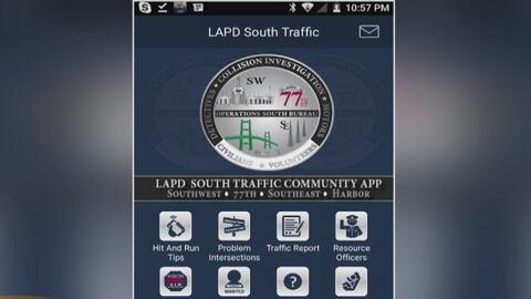 Departamento de Policía de Los Ángeles lanza una aplicación para informa...