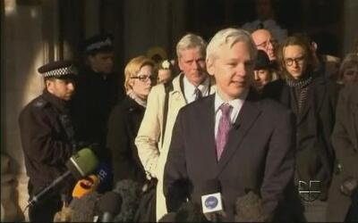 Julian Assange le pidió al presidente Barack Obama que termine con la ca...