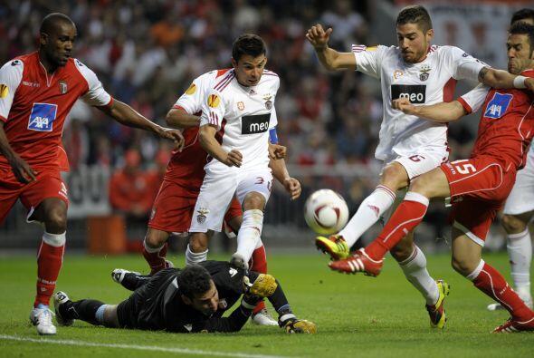 Con este resultado pasaba el Braga, algo que no podía permitir la vsita.