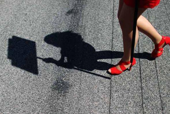 La belleza se hizo presente en el Gran Premio de España en Barcelona.