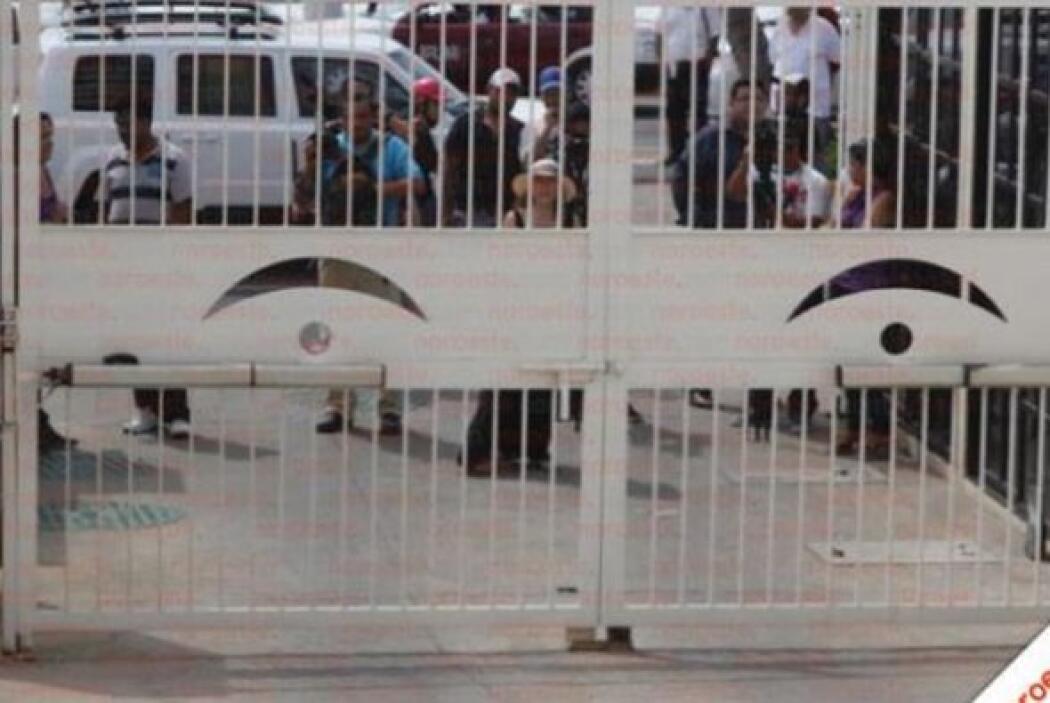 El medio cedió las imágenes a Univision 34.