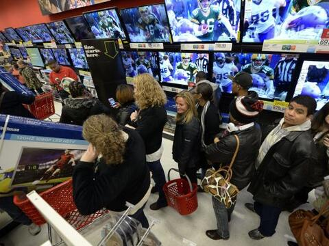 El Black Friday se vivió como una auténtica locura y fiebre de compras.