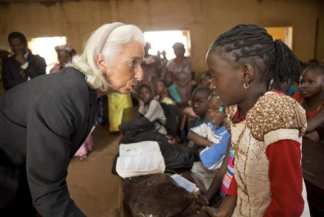 La directora del Fondo Monetario Internacional (FMI), Christine Lagarde,...