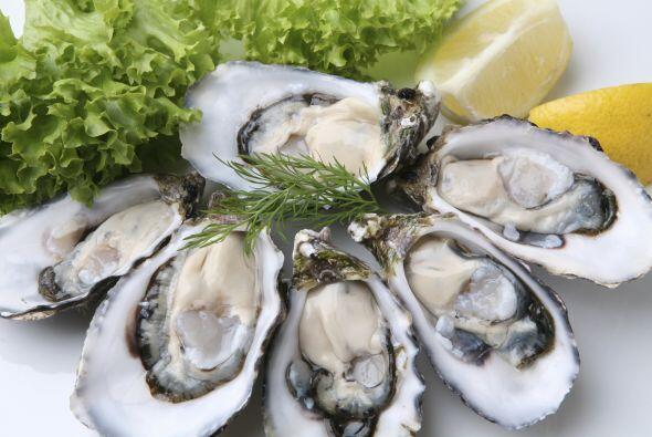 Seis ostras medianas aportan unos 76.3 mg de zinc, muy por encima de los...