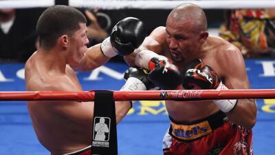 Orlando Salido y Román Martínez repitieron una batalla épica.