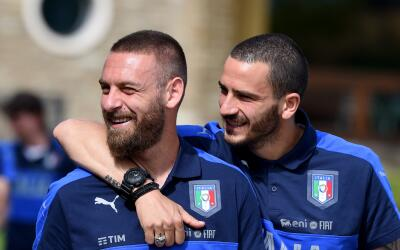 Italia dio su convocatoria para la Euro