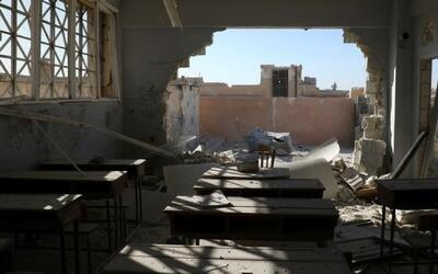 Ataque contra una escuela en Siria deja al menos 22 niños fallecidos