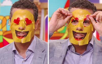 Probamos las mascarillas faciales de emojis y éste fue el resultado