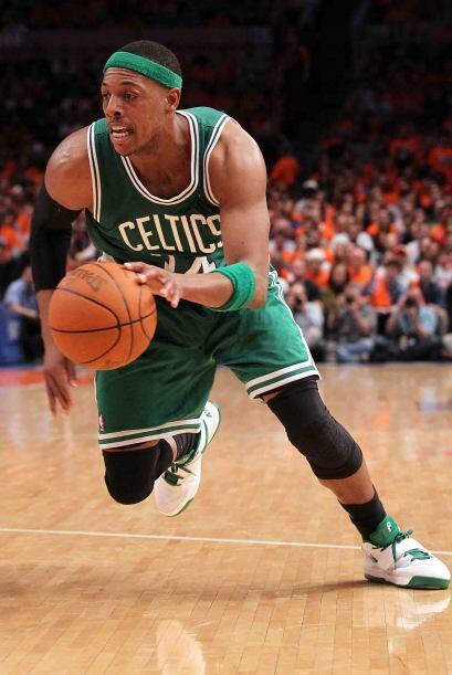Paul Pierce de los Celtics de Boston. el veterano es el símbolo de la fr...