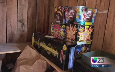 Alertan sobre uso de fuegos artificiales en feriado del 4 de julio