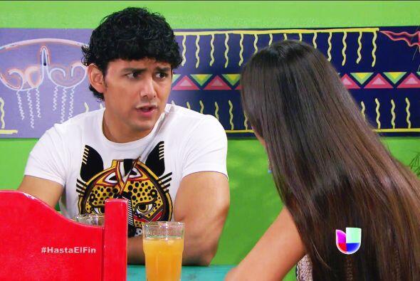 Pero cuidado Daniela, la hermana de Chavita también está muy ilusionada...