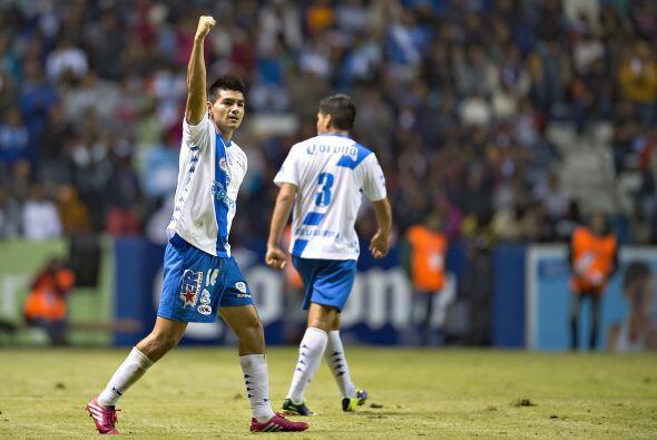 Luis Loroña, el delantero del Puebla maneja un estilo de juego pa...