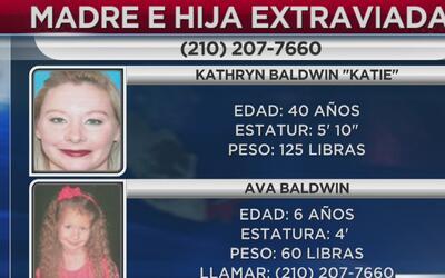 Policía de San Antonio pide colaboración para encontrar a madre e hija d...