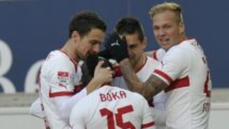 Un solo gol le bastó al Stuttgart para sumar tres unidades.