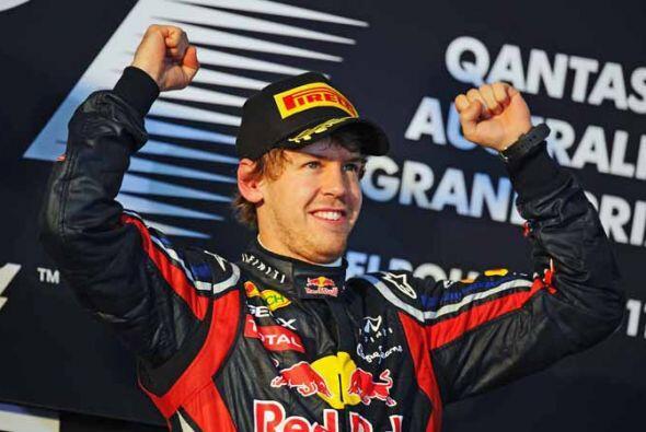 Vettel es el campeón más joven de la Fórmula 1 y ha...