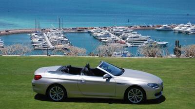 BMW 650i Convertible 2012