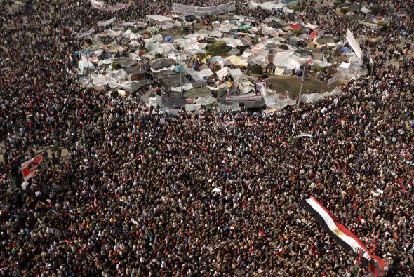 El 25 de enero de 2011 comenzaron las protestas en el país en contra del...