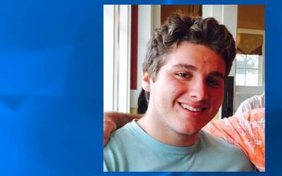 Austin Harrouff, de 19 años, es estudiante de la Universidad Esta...