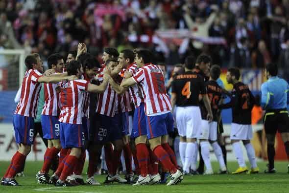 Al final, el resultado de 0-0 le sirvió al Atlético para avanzar a semif...