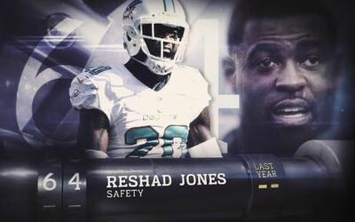 Top 100 Jugadores del 2016: (Lugar 64) SS Reshad Jones