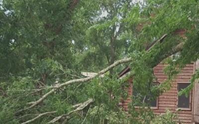 Sealy, Texas, gravemente afectada por las fuertes tormentas