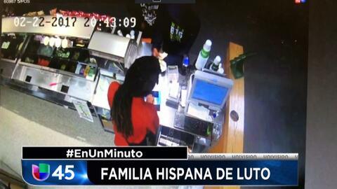 En Un Minuto Houston: Revelan imágenes de uno de los sospechosos de mata...