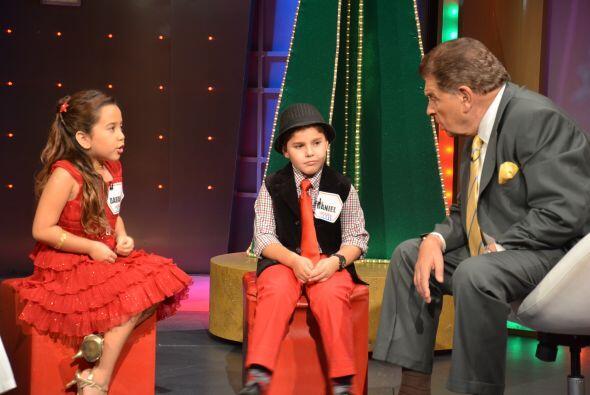 Con los niños de la conversación Don Francisco les pregunt...