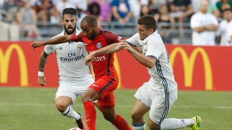Real Madrid perdió 1-3 con el PSG