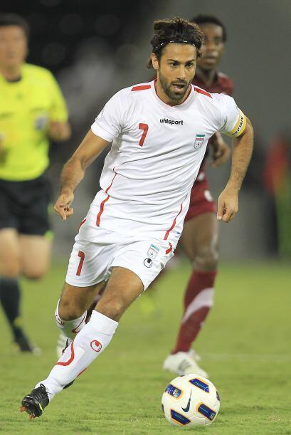 En Asia ganó Farhad Majidi. Juega en el Esteghlal Cultural and At...