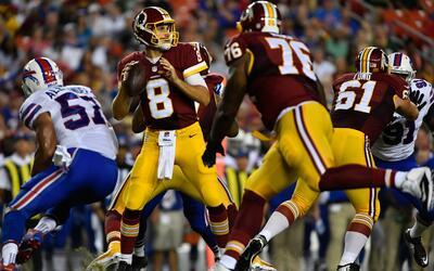 Redskins - Bills: Kirk Cousins definió el partido en el Segundo Cuarto
