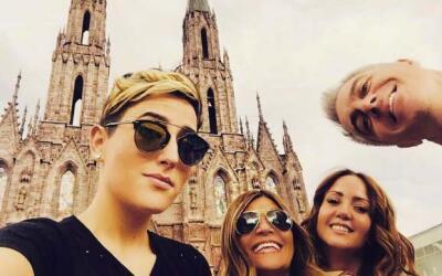 Aprovechando que andan de tour, se fueron a conocer Zamora, Michoacán.