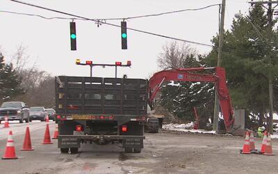 Nicor Gas continúa con las reparaciones en Homer Glen tras explosión de...