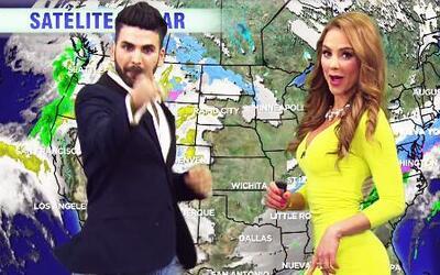 Jomari Goyso bailó 'El Weather' con Ximena Córdoba