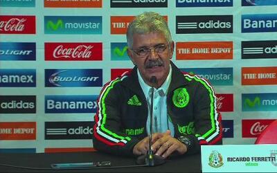 'Tuca' Ferretti: Saco buenas conclusiones contra Trinidad y Tobago