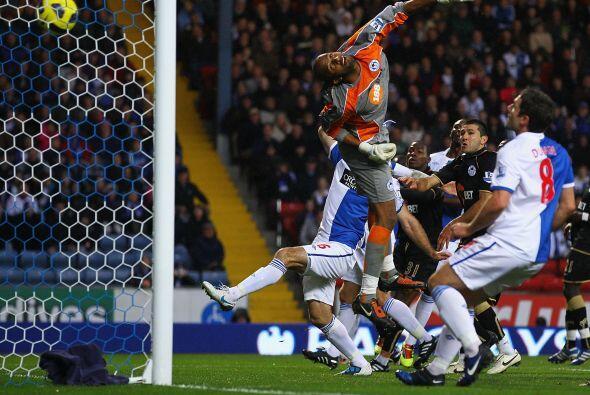 Blackburn Rovers consiguió un importante triunfo ante el Wigan Athletic...