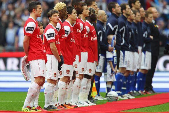Arsenal y Birmingham fueron los finalistas de este torneo.