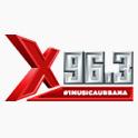 Logo Nueva york  X96.3 FM
