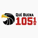 Logo Chicago Qué Buena 105.1 FM