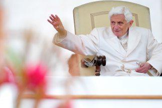 El papa Benedicto XVI cumplió 85 años de edad.
