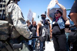 Protestas Anaheim