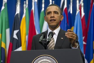 El presidente Obama aseguró que el narcotráfico es una 'amenaza directa...