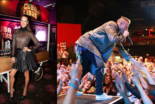 Alessandra Ambrosio/Macklemoreand Ryan Lewis at the Rolling Stone hosted...
