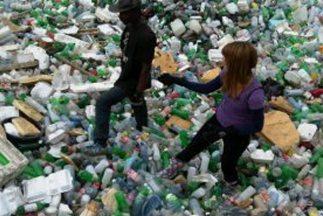 Un basurero en Puerto Príncipe.