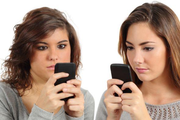 El celular te puede hacer adicto.
