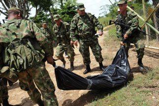 Los combates con las FARC ocurrieron en el municipio Policarpa, cercano...